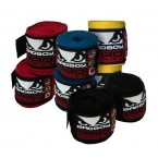 Bad Boy Hand Wraps for Boxing/Muay Thai/MMA - Various Colours (2.5m Stretch)