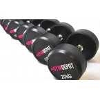 GYM DEPOT Rubber Dumbbells