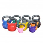 GYM DEPOT Vinyl Covered Dipping Kettlebell