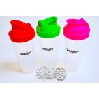 Beast Protein Shaker Blender Bottle With Mixer Ball 600ml