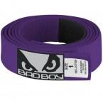 Bad Boy BJJ purple Belt with Patch