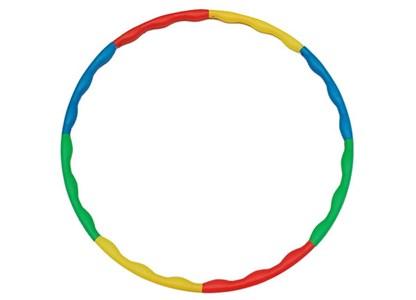 GYM DEPOT 3 Set Of Rainbow Hula Hoop