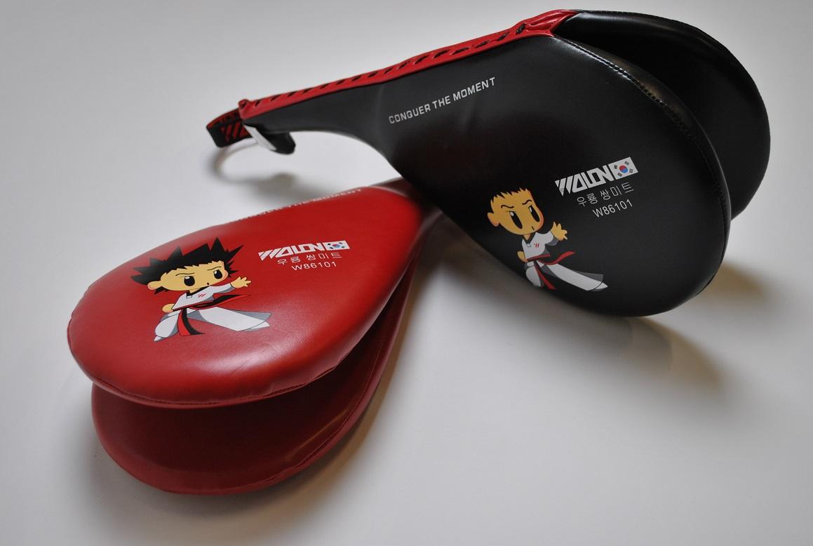 Taekwondo Double Kicking Target Pad MMA Kickboxing