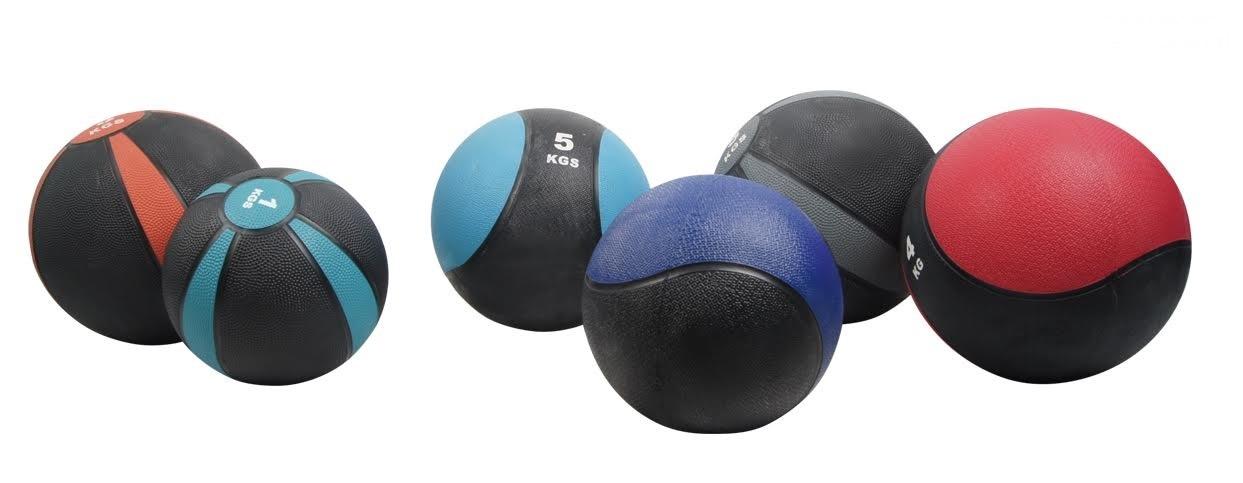 GYM DEPOT Rubber Medicine Ball